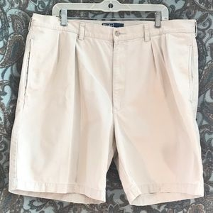 Polo Khaki Chino Shorts Size 40